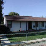 Front of the existing house. Built in the 1940\'s of about 1000 s.f.