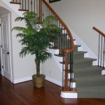 Curved Entry stairs.